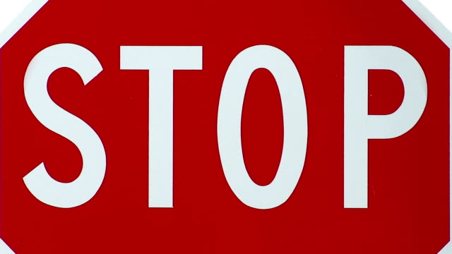 stop violence against women bumper - stop sign stock videos and b-roll footage