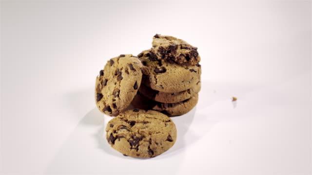 stopmotion cookies - biscuit stock videos & royalty-free footage