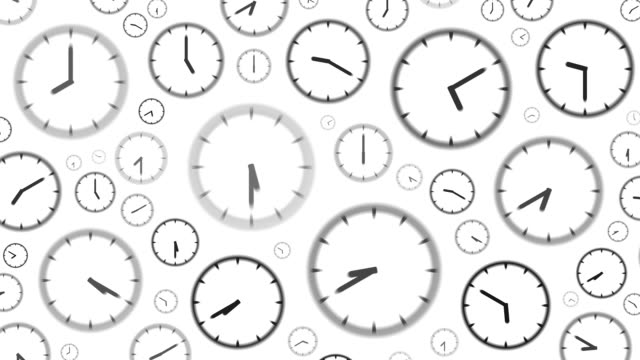 clocks : stopping at 1:00 o'clock (wipe) - minute hand stock videos & royalty-free footage