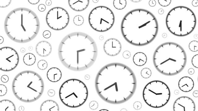 CLOCKS : stopping at 10:00 o'clock (WIPE)