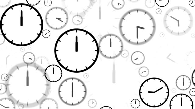 clocks : stopping at 12:00 o'clock (loop) - 24 hrs stock videos and b-roll footage