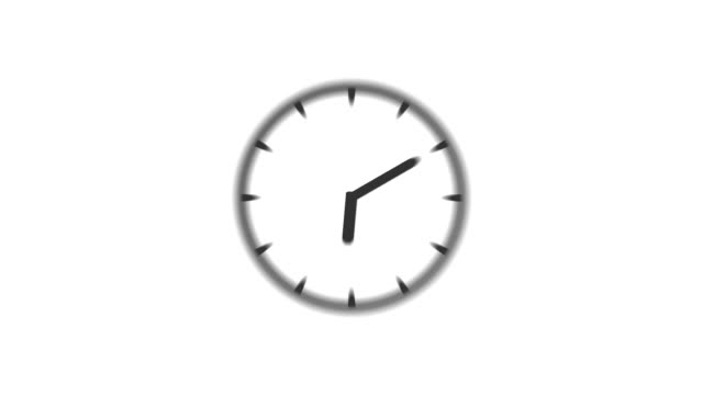 CLOCK : stopping at 2:00 o'clock (WIPE)