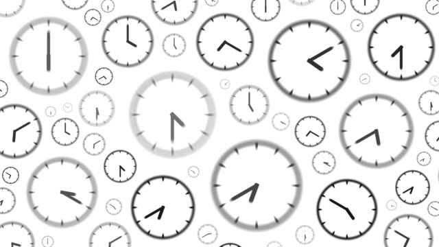 clocks : stopping at 5 to 12 o'clock (wipe) - 24 hrs stock videos and b-roll footage