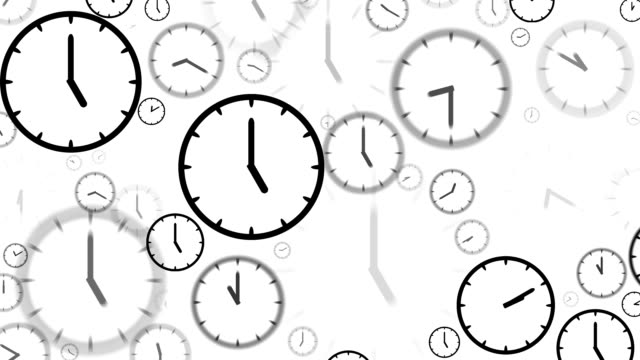 clocks : stopping at 5:00 o'clock (loop) - number 5 stock videos & royalty-free footage