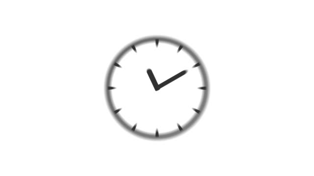 CLOCK : stopping at 7:00 o'clock (WIPE)