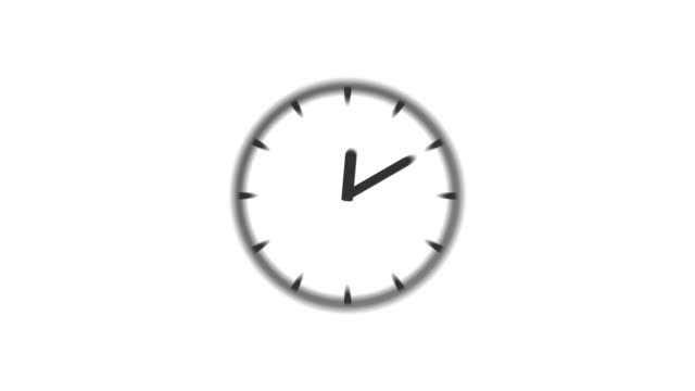 CLOCK : stopping at 8:00 o'clock (WIPE)