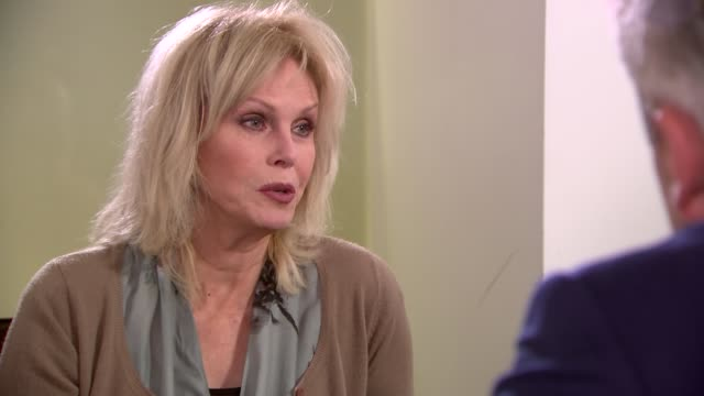 joanna lumley interview on ivory trade england london int joanna lumley sot we're meant to be the guardians/ just means we're the toughest here we... - joanna lumley stock videos & royalty-free footage