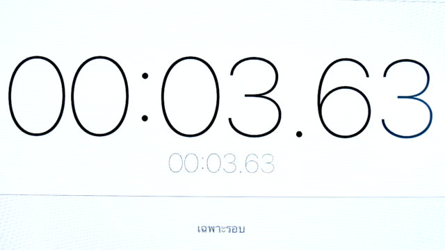 stockvideo's en b-roll-footage met stopwatch nummers - countdown