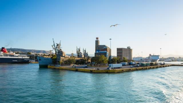 WS storage at Piraeus harbour of Athens