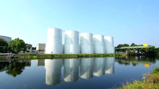 storage tanks - fuel storage tank stock videos and b-roll footage