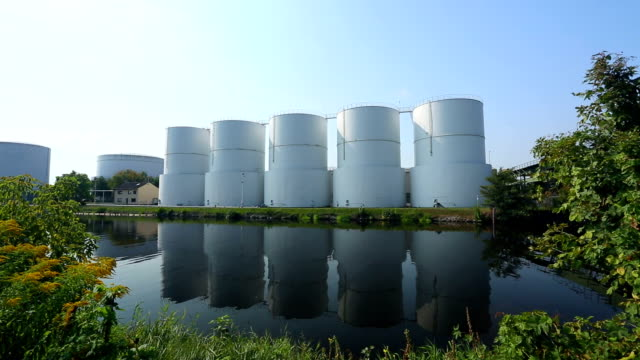 storage tanks - storage tank stock videos & royalty-free footage