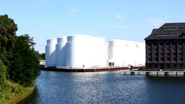 storage tanks - dry dock stock videos & royalty-free footage