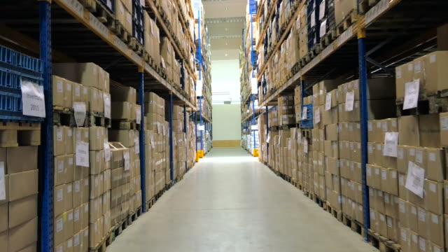storage warehouse - megastore stock videos & royalty-free footage