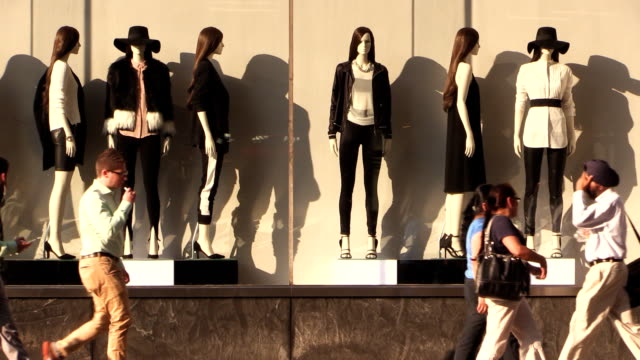 Storefront Mannequins in Manhattan New York City