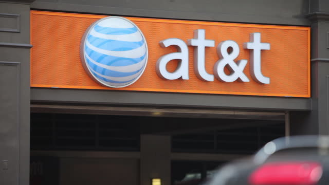 ATT storefronts signage and logos