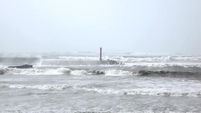 ストームの海 - 自然災害点の映像素材/bロール