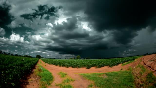 Storm Cloud at Farm Time Lapse