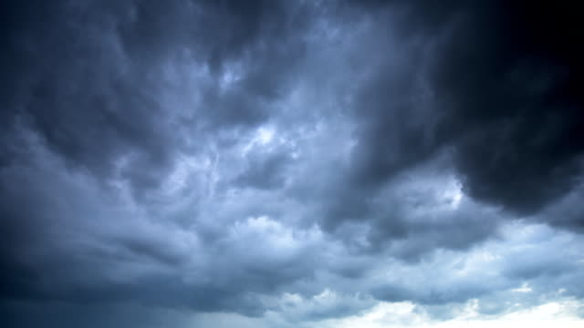 storm cloud time lapse - full hd format stock videos & royalty-free footage