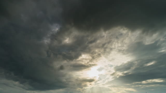 storm clouds and clouds moving sunset - oklahoma stock videos & royalty-free footage