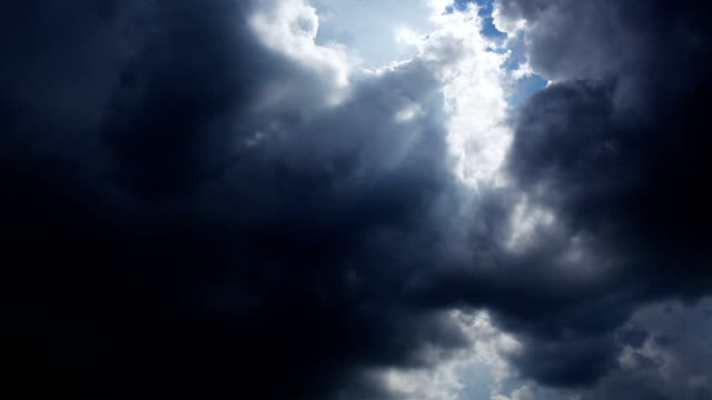 storm clouds are coming - dramatic sky stock videos & royalty-free footage
