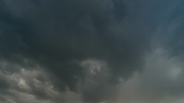 storm clouds moving time lapse - cloudscape stock videos & royalty-free footage