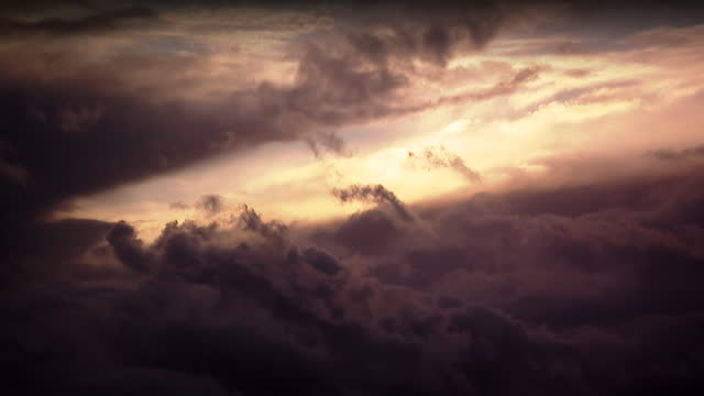 storm clouds passing in costa del sol - spain stock videos & royalty-free footage