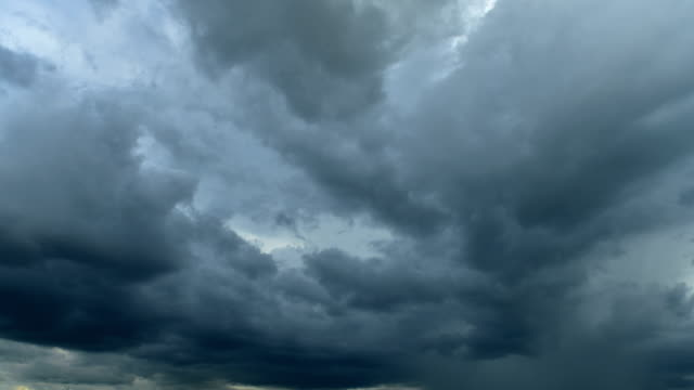 storm clouds time lapse - overcast stock videos & royalty-free footage