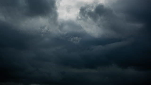 storm clouds timelapse - dark stock videos & royalty-free footage