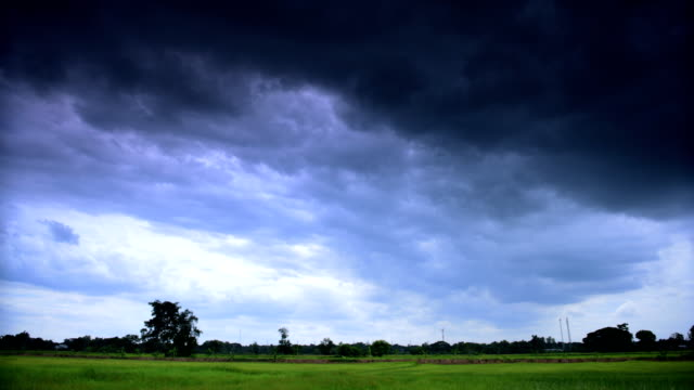 storm clouds timelapse - full hd format stock videos & royalty-free footage