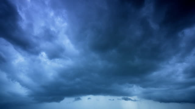 storm clouds timelapse - storm cloud stock videos & royalty-free footage