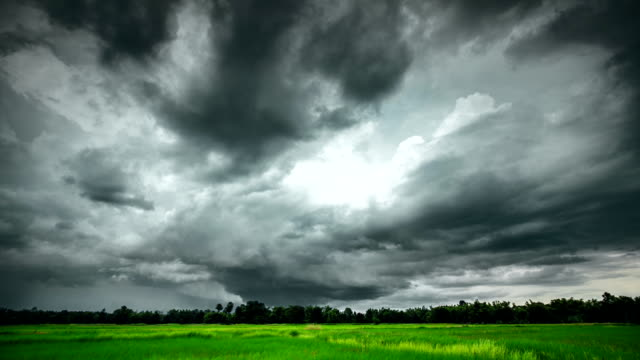 Storm clouds Timelapse (HDR)