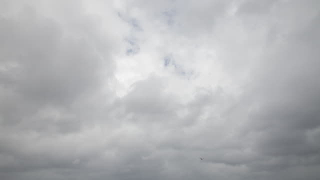 ws la ld storm clouds - overcast stock videos & royalty-free footage