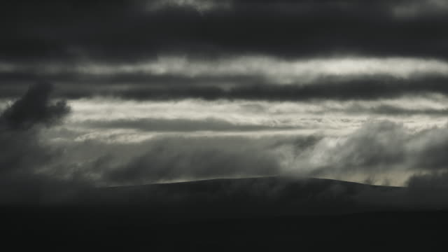storm clouds - pennines stock videos & royalty-free footage