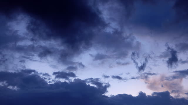 storm cloudscape background, time lapse - forked lightning stock videos & royalty-free footage