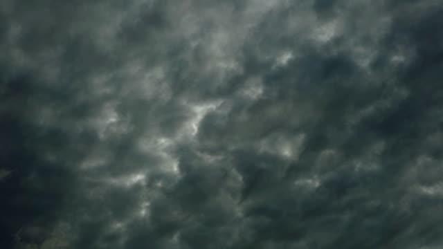 嵐雲風景劇的な空の背景 - overcast点の映像素材/bロール