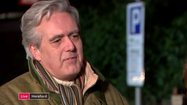 460 flood warnings in place across uk as flooding causes widespread devastation england herefordshire hereford mark garnier mp and reverend ruth... - キャシー・ニューマン点の映像素材/bロール