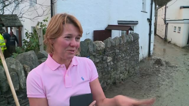 impact of flooding in cumbria paul barnes interview sot had a village plan a couple of years ago everybody involved / what the villagers wanted they... - in the loop 2009 film stock videos and b-roll footage