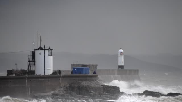 vídeos y material grabado en eventos de stock de storm diana - gales