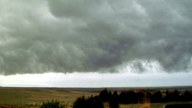 Storm front, timelapse