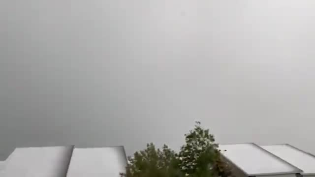 storm hit casper, wyoming, on monday, september 20. the storm also brought severe hail storm to the area. - wyoming stock videos & royalty-free footage