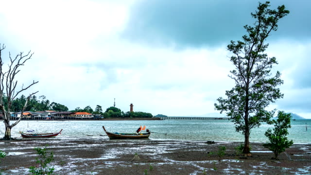 Storm over Old Town Bay, Ko Lanta, Krabi, Thailand.
