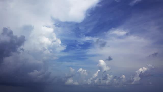 storm sky - cumulonimbus stock videos & royalty-free footage