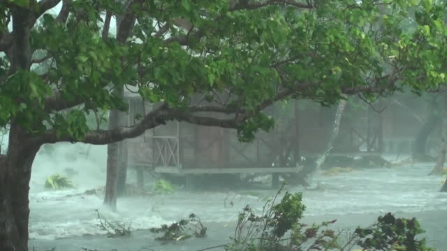 storm surge closeup - pacific islands stock videos & royalty-free footage