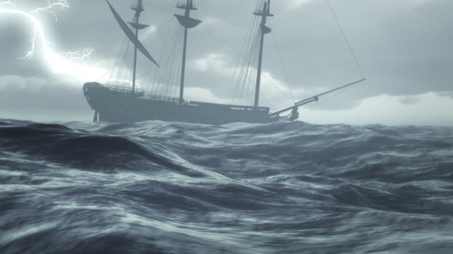 storm - ship stock videos & royalty-free footage