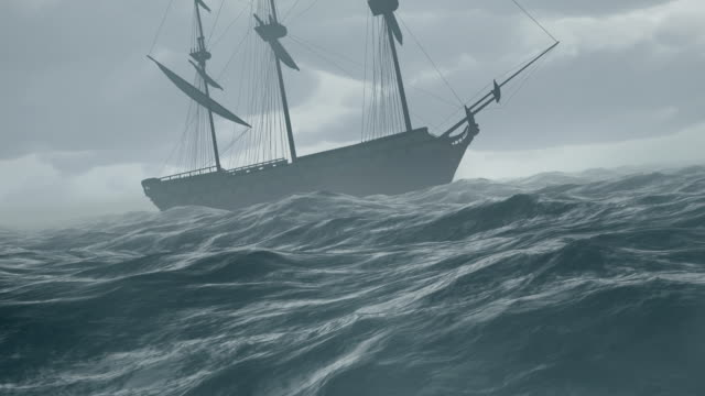 storm - nautical vessel stock videos & royalty-free footage
