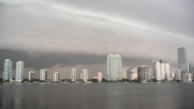 Storm watch Miami HD time lapse