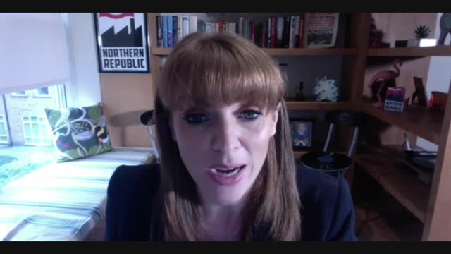 storming of us capitol: angela rayner interview; england: int angela rayner mp interview via internet sot q: on suggestion london hospitals could be... - people stock videos & royalty-free footage
