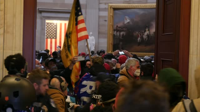 storming of us capitol: calls for donald trump to be removed in aftermath of riots; usa: washington dc: capitol building: int donald trump supporters... - pushing stock videos & royalty-free footage