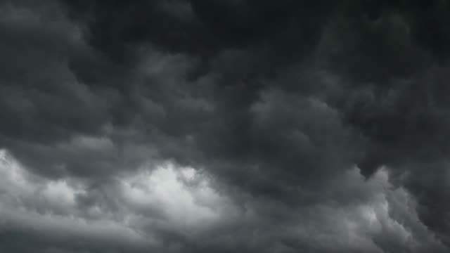 stormy clouds for background - timelapse - ominous stock videos & royalty-free footage
