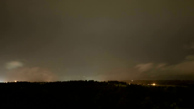 stormy night, timelapse - rapid city stock videos & royalty-free footage